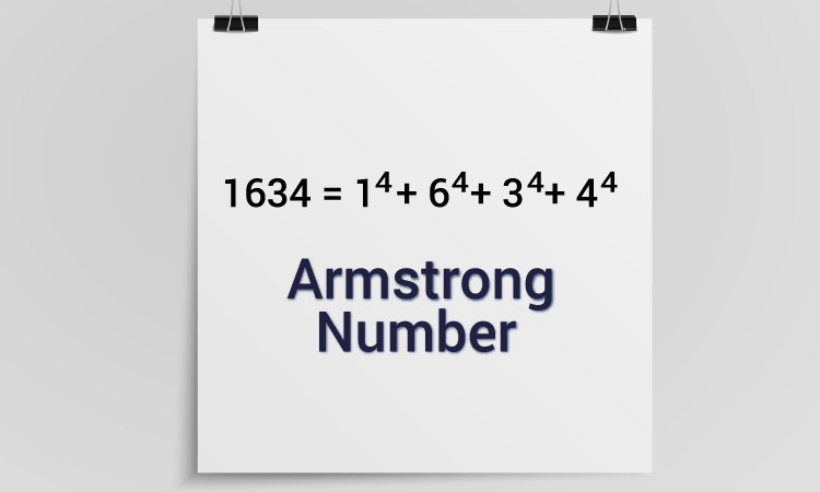 Armstrong number in python