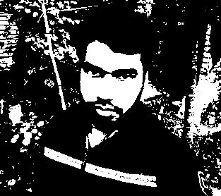 My Binary Image (Black and white)