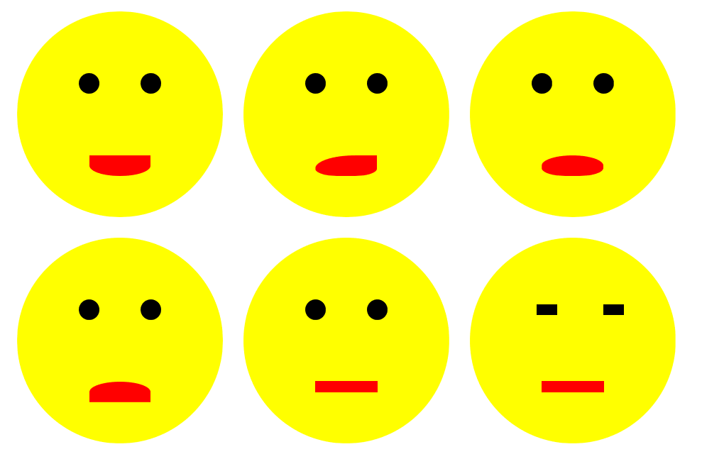 create smiley using HTML CSS