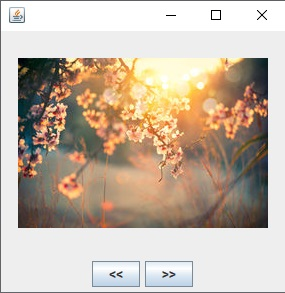 image slider in Java Swing