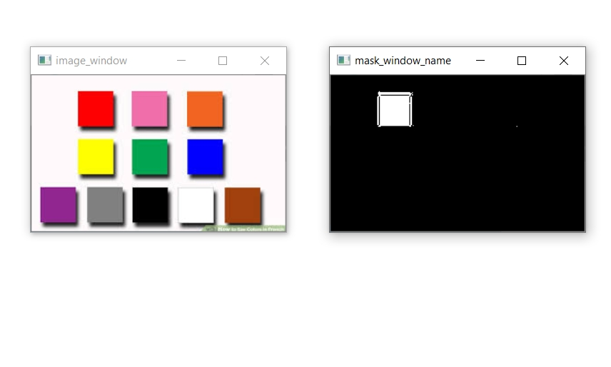 how to detect color in Python using OpenCV