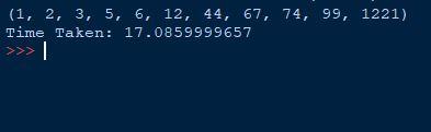 bogo sort in Python