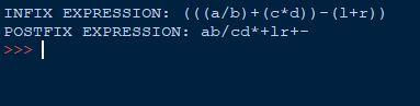 postfix in Python