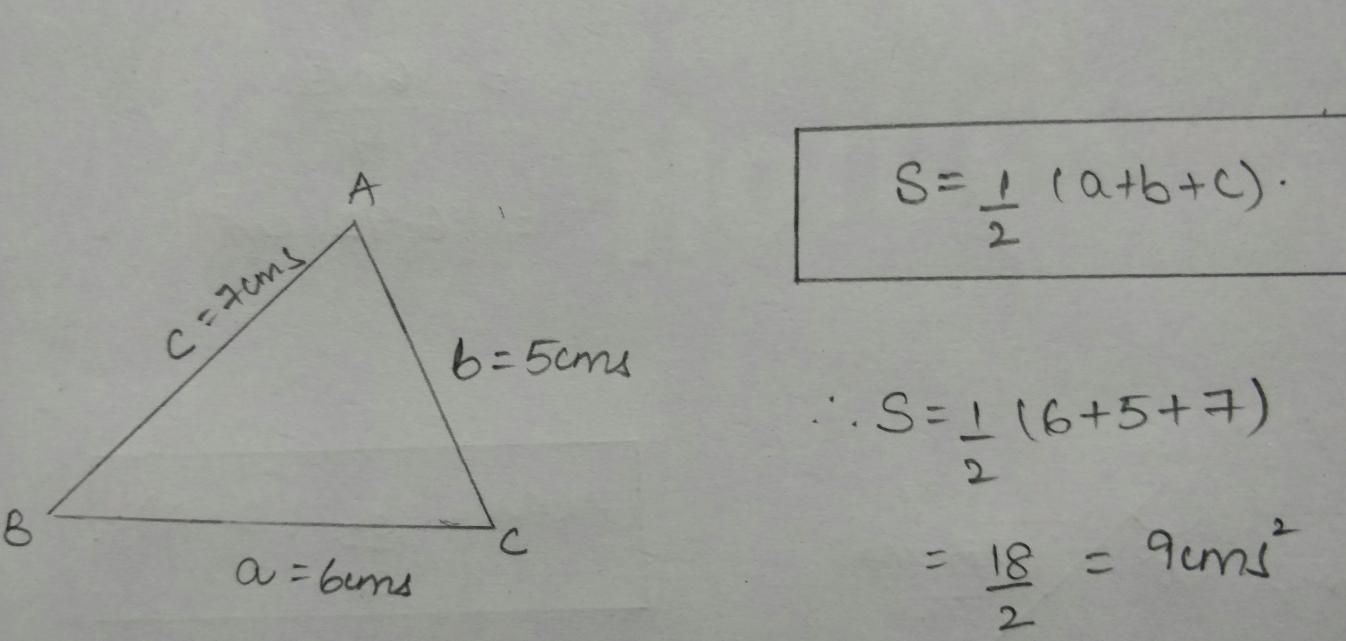 triangle formula