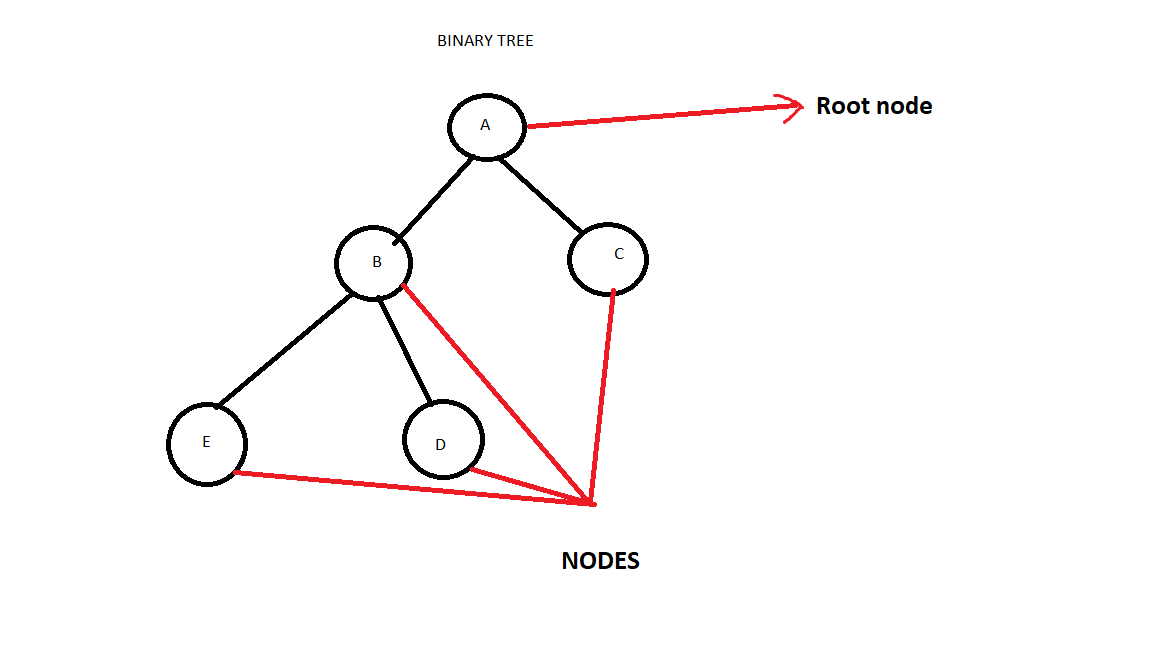 Nodes in a Binary Tree