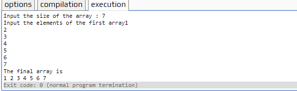 copy elements of one array to another in C++