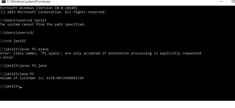 PI Constant in Java