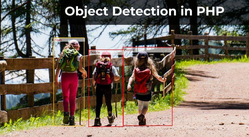 Object Detection in PHP with 15 lines of code
