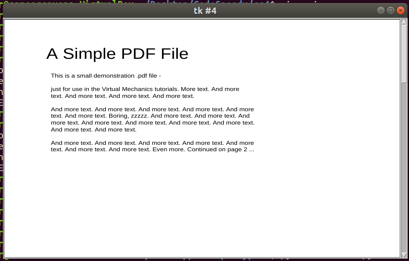 How to create a PDF viewer using Python