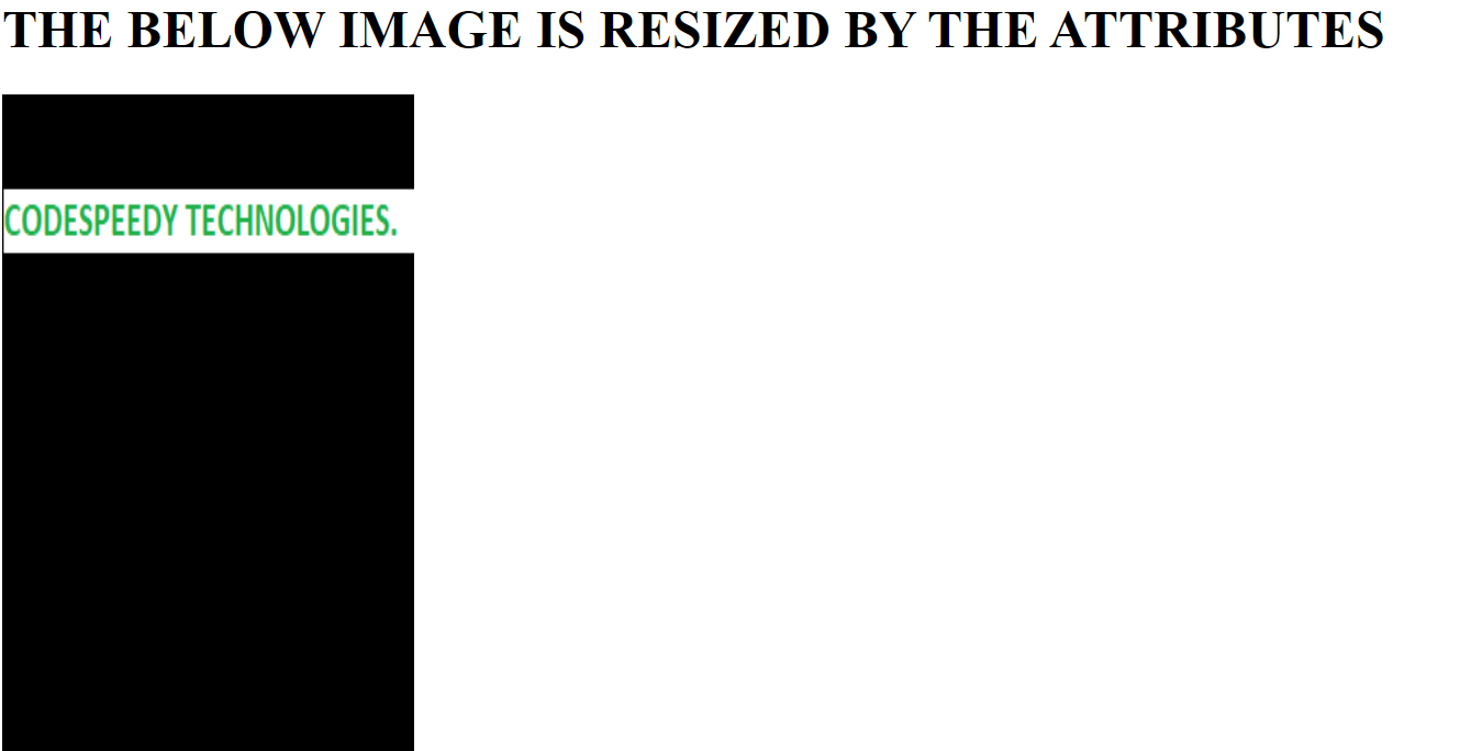 Resize an Image in HTML