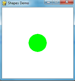 Drawing a Circle in Pygame