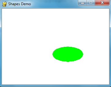 Drawing Different Shapes in pygame Using Python