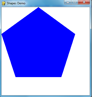 Drawing a Polygon