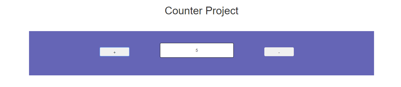 JavaScript counter