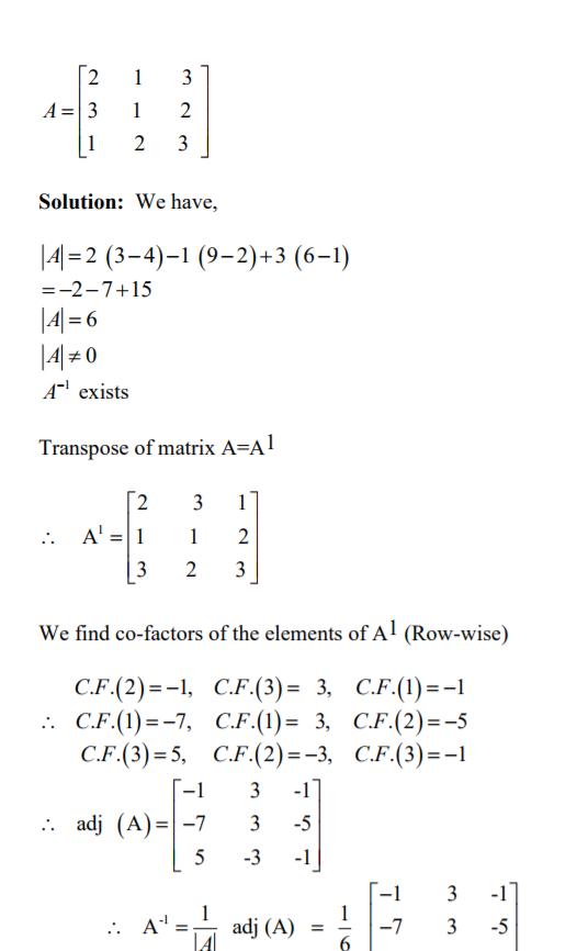 Matrix Inversion in C++