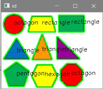 Detect shapes in Python using OpenCV from an image