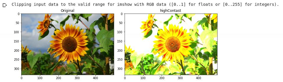 Increasing Image Contrast
