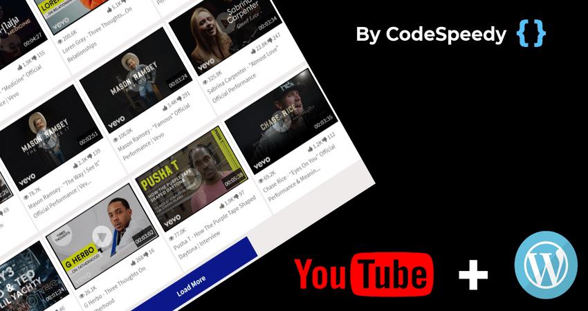 YouTube Channel Gallery WordPress Plugin