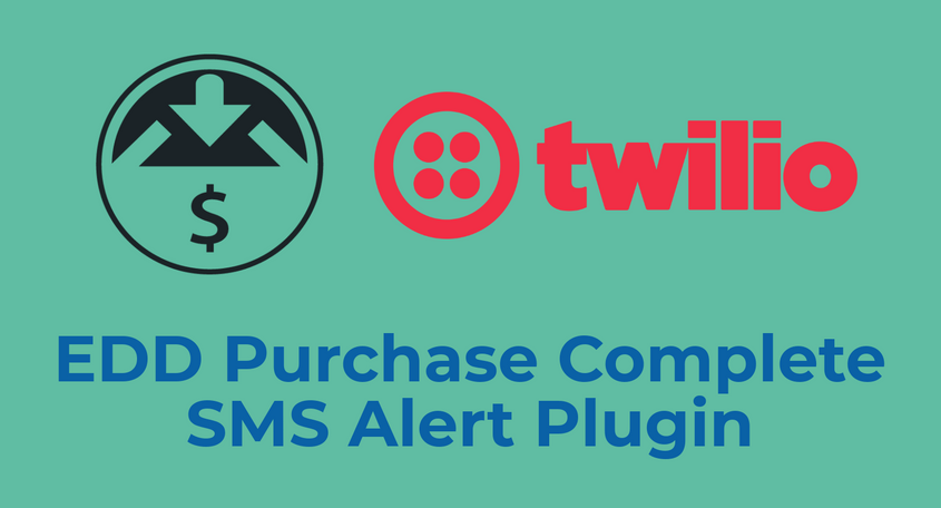 EDD Purchase Complete SMS Alert Plugin